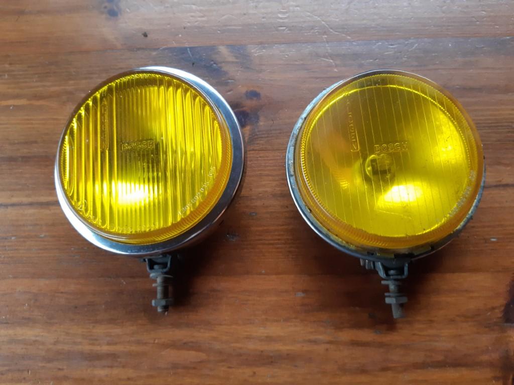 Fendinebbia gialli anni 60 - Godegart